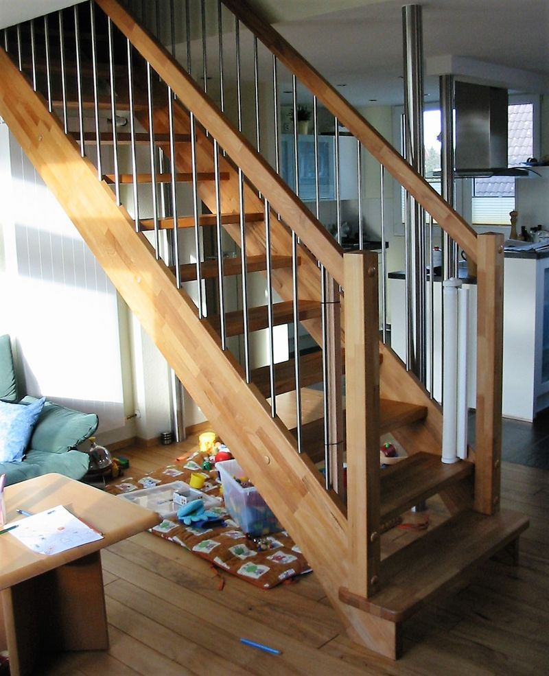 raumsparende treppe