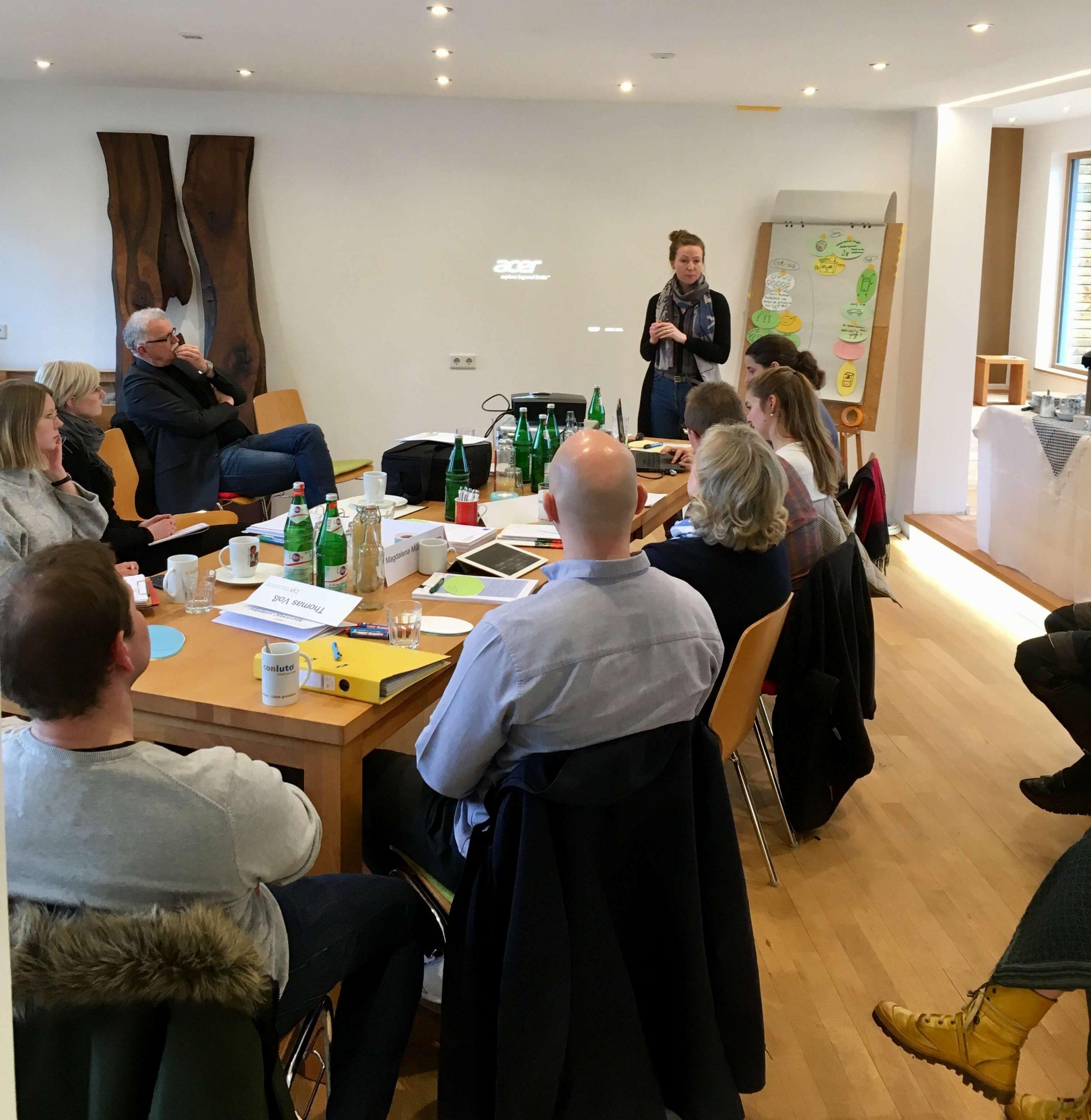 Achter und letzter CSR Workshop in unserem Betrieb