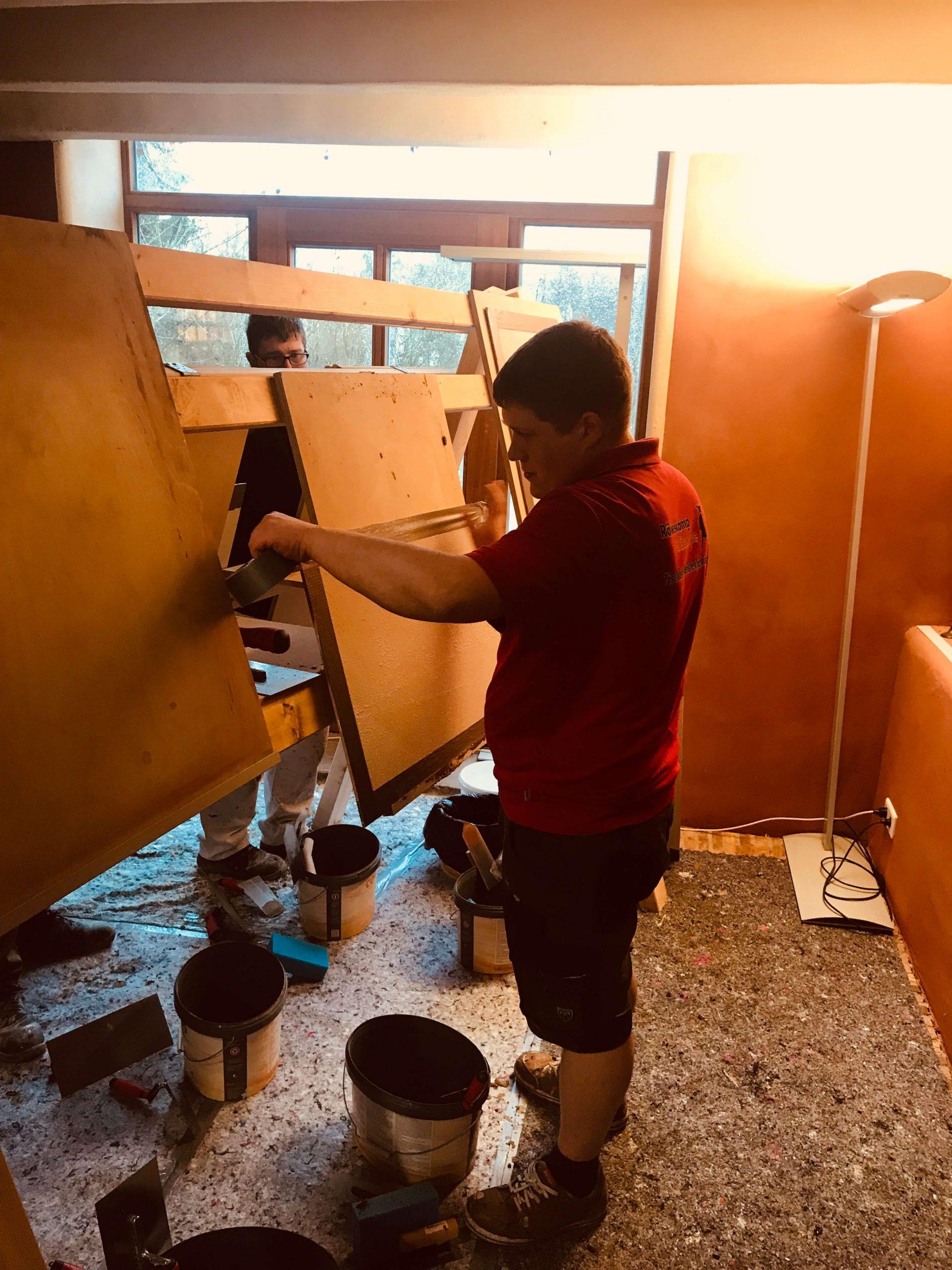 Handwerker-Schulung: Baustoff Lehm – Innovation der Natur